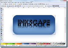 Inkscape-Programmfenster