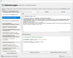 Calibre: Metadaten mit Doppelklick bearbeiten