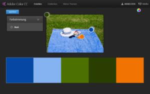 Passende Farben mit Adobe Color CC