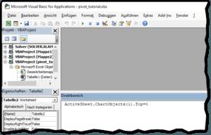 Excel - Diagramme und Datenschnitte exakt positionieren